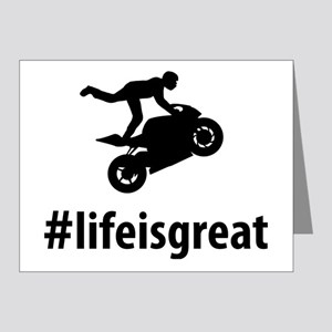 Stunt-Rider-06-A Note Cards (Pk of 20)