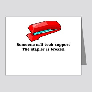 Someone call tech support Note Cards (Pk of 20)