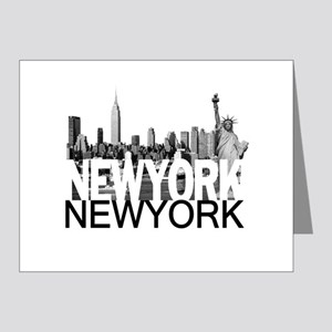 New York Skyline Note Cards (Pk of 20)