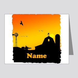Sunrise at the Farm Note Cards (Pk of 20)