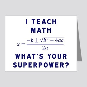 Funny Math Equation Greeting Cards - CafePress