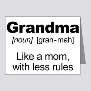 Grandmas Rule! Note Cards