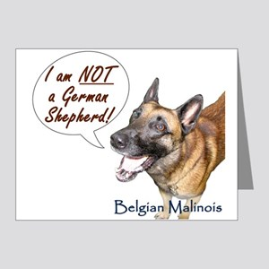 I'm not a German Shepherd! Note Cards (Pk of 20)