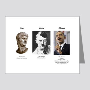 Dictator blame Note Cards (Pk of 20)