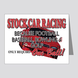 Stock Car Auto Racing Note Cards (Pk of 20)