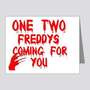 freddys song Note Cards (Pk of 20)