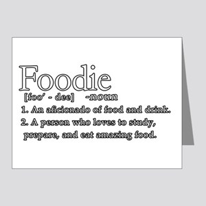 Foodie Defined Note Cards (Pk of 20)