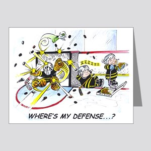 Where's My Defense? Note Cards