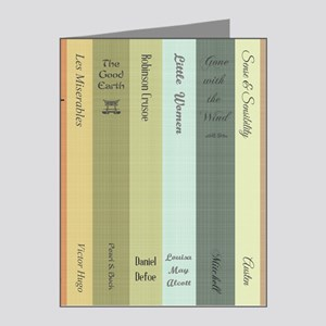 Book Lovers Note Cards Pk Of 20