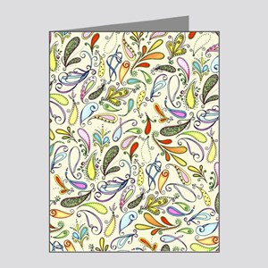 Crazy For Paisley Note Cards (Pk of 20)