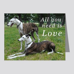 All You Need Is Love Note Cards (Pk of 20)