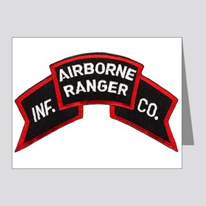 Infantry Airborne Note Cards (Pk of 20)