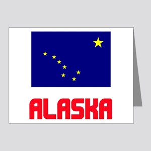 Alaska Flag Design Note Cards