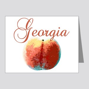 Georgia Peach Note Cards (Pk of 20)