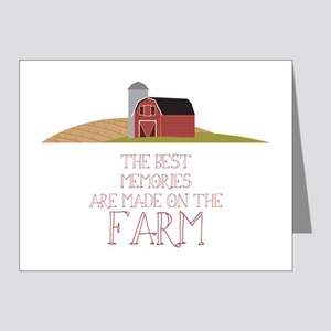 Farm Memories Note Cards