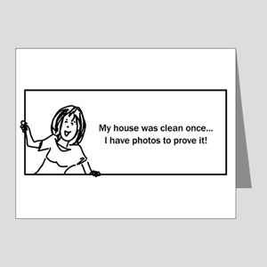 Funny House Cleaning Greeting Cards - CafePress