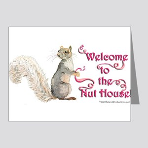 Squirrel Nut House Note Cards (Pk of 20)