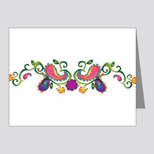 Pretty Paisley Note Cards