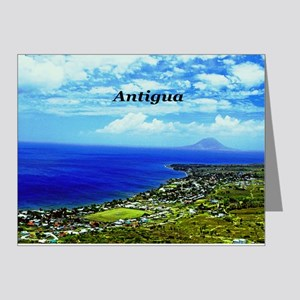 Antigua Coastline Note Cards (Pk of 20)