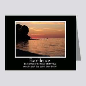 Excellence Decor Note Cards (Pk of 20)