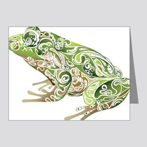 Filligree Frog Note Cards
