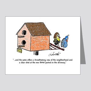 Flipping The Birdhouse Note Cards (Pk Of 20)