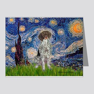Starry Night /German Short Note Cards (Pk of 20)
