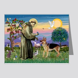 St Francis / G Shep Note Cards (Pk of 20)