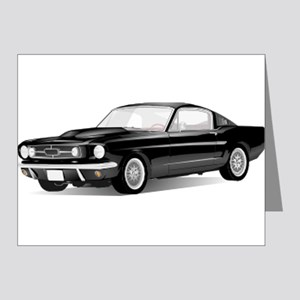 Mustang Fastback Note Cards (Pk of 20)