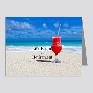 Retirement Note Cards (Pk of 20)