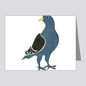 Fashionista Pigeon copy Note Cards
