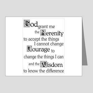 Serenity Prayer Note Cards