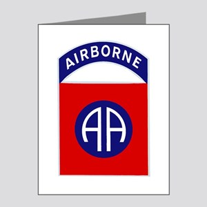 82nd Airborne Note Cards (Pk of 20)