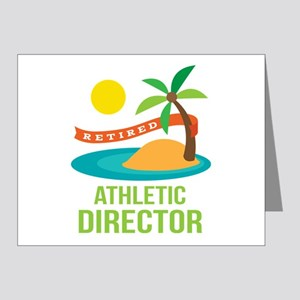 Retired Athletic Director Note Cards (Pk of 20)