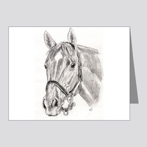 Horses Note Cards (Pk of 20)