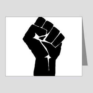 Solidarity Salute Note Cards