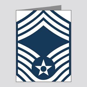 USAF-CMSgt-Blue Note Cards (Pk of 20)