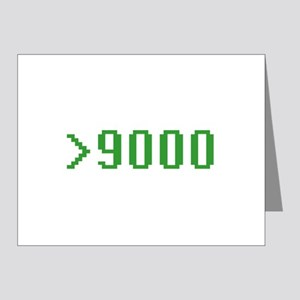 >9000 Note Cards (Pk of 20)