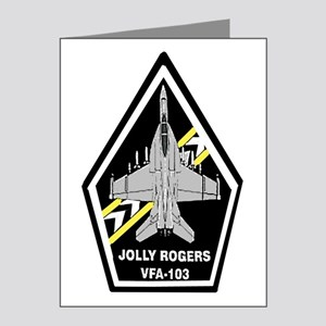VFA 103 Jolly Rogers Note Cards (Pk of 20)
