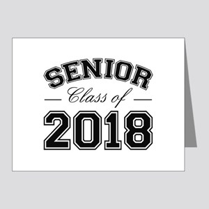 Class Of 2018 Senior Note Cards (Pk of 20)