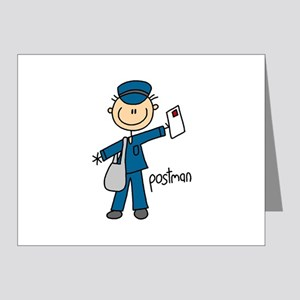 Postman Note Cards (Pk of 20)