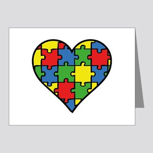 Autism Puzzle Note Cards (Pk of 20)