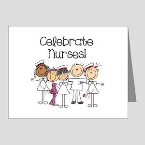Celebrate Nurses Note Cards (Pk of 20)