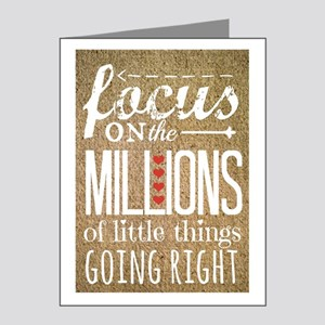 Millions Note Cards (pk Of 20)