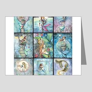 Molly Harrison Mermaids Fantasy Art Note Cards