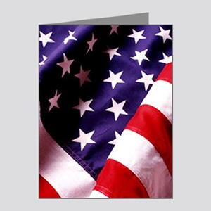 American Flag Note Cards (Pk of 20)