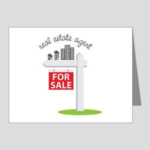 Real Estate Agent Note Cards