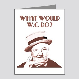 What would W.C. do? Note Cards (Pk of 20)
