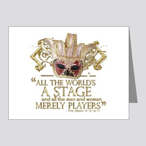 As You Like It Quote Note Cards (Pk of 20)