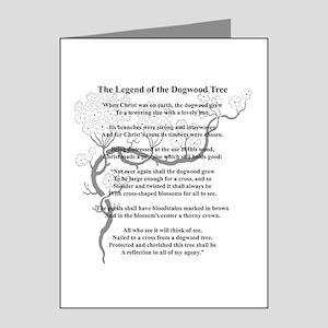 """Dogwood Tree Legend"" Note Cards (Pk of 20)"